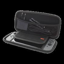 DELTACO SPĒLES Nintendo Switch cietais soma, 5 spēļu nišas