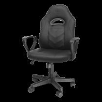 DELTACO GAMING Junior krēsls, 100 mm gāzes pacēlājs, PU-āda, regulējams augstums
