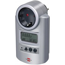 Brennenstuhl Elektrības skaitītājs, ekspluatācijas izmaksas, volti / vati, sudrabs