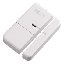 Magnetic contact NEXA, 70x31x12 mm, white / GT-882