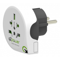 Adapter Q2Power 10A, white / GT-900
