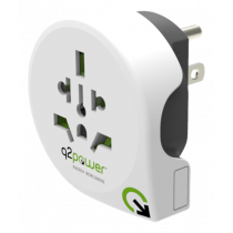 Adapter Q2Power 10A, white / GT-902