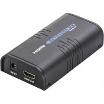 Extra receiver for HDMI-221, black HDMI-221-M