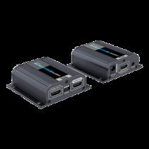 40 m HDMI paplašinātājs ar tīkla kabeli ar EDID