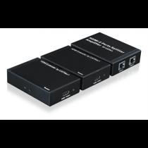 HDMI 1x2 splitter DELTACOIMP 1080p up to 50m, HDMI 1.3, black / HDMI-7029