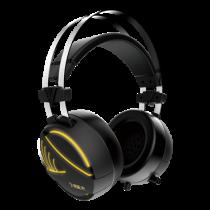 GAMDIAS HEBE E1 RGB headset, 32 ohm, 40mm element, 2m cable, black / HEBEE1RGB