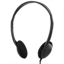 Headphone DELTACO HL-27 with volume control 2.2m black