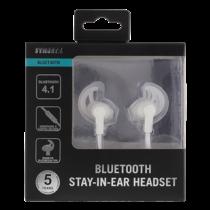 Bluetooth stay-in-ear headset, Bluetooth 4.1, 10m STREETZ white / HL-569