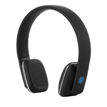 Headphones STREETZ Bluetooth, black / HL-577