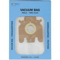Dust bags Nordic Quality MMI2130 Miele 5pcs + 2 filter / 358505
