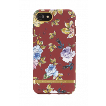 Case Richmond for iPhone 6/6s/7/8, red, floral / IP678-202