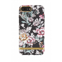 Case Richmond for iPhone 6/6s Plus/7/8 Plus, black floral / IP678-2066