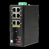 PoE switch, 4x RJ45, black IPS31084P / ONV-IPS31084PF