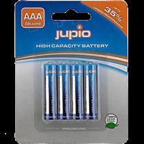 Jupio AAA Alkaline baterijas, 4-pack, LR3, 1.5V, neuzlādējamas, blu