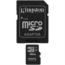 Kingston 16GB microSDHC 4. klases zibatmiņas karte