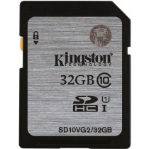 Memory Card Kingston SDHC, 32GB, UHS-I Class 10, 45MB/s / KING-1922