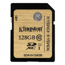 SDXC Kingston SDA10/128GB, 128GB / KING-2045