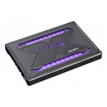 "HyperX Fury RGB SSD, 960GB, 2.5 "", Marvel controller, 550 MB / s write, 480MB / s read, black Kingston /KING-2741"