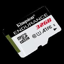 Kingston 32GB microSDHC Endurance 95R/30W C10 A1 UHS-I Card Only