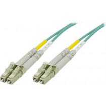 DELTACO OM3 fiberkabel LC - LC, duplekss, daudzmodu, 50/125, 7 m