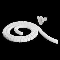 Nylon wire tube, 25mm diameter tool included, 25m DELTACO white / LDR25