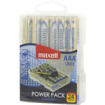 Maxell galvanizators, AAA (LR03), Alkaline, 1,5V, 24-pack
