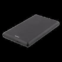 """DELTACO External 2,5"""" HDD/SDD enclosure, USB-C, USB 3.0, aluminium, SA"""