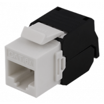 UTP Cat6a keystone connector, unshielded, 22-26AWG DELTACO / MD-109