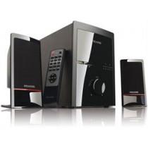 Microlab 2.1 speaker system 2x1, 46W RMS, 35-20000 Hzl, RCA / USB / SD/ 3.5mm stereo, black 78377 / MLAB-103