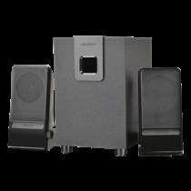 Microlab M-100, 2.1 speaker system, 2xsatelliter and 1x subwoofer, 10W RMS, black 91351 / MLAB-91351
