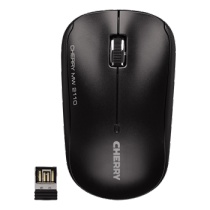 Cherry MW 2110, Wireless Mouse, 2.4GHz,10m, USB nano-receiver, 2000dpi, Black  JW-T0210 / MS-182
