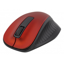 Wireless Optical Mouse DELTACO 1200 DPI, 125Hz, 2.4GHz, red / MS-709