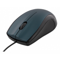 Optical mouse DELTACO 1200 DPI, 125Hz, USB, blue / MS-712