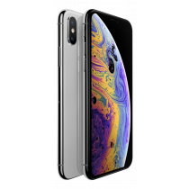 "Apple iPhone Xs 64GB, 5,8"" silver / MT9F2QN/A"