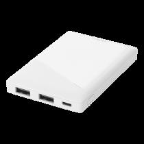DELTACO barošanas banka 5000 mAh, 2x USB-A, aizsardzība pret īssavienojumu