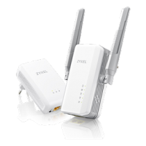 ZyXEL AV2, starter kit with two adapters 802.11ac Dual Band 867Mbps Gigabit 2xRJ45 white/ PLA5236