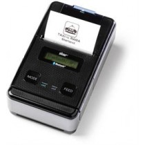 Star SM-S220i mobile receipt printer, Bluetooth, magnetic card reader, iOS/Android/Windows, MFi Black  39630830 / POS-119