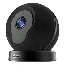 Camera Deltaco, wireless,720p, 802.11b / g / n, app for iOS / Android, Blac  / Q1