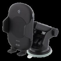 DELTACO Ātrais bezvadu lādētājs ar infrasarkano staru sensoru, 10W, sūknis, ventilators c