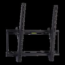 Sienas stiprinājums QNECT līdz 75kg., VESA 75x75 līdz 400x400, melns / QNE-1003