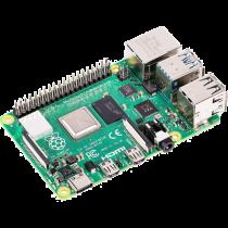 Raspberry Pi 4 Modelis B, 4 GB RAM, USB-C, dual Micro HDMI