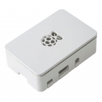 DesignSpark Raspberry chassis for Pi 3 Model B, Raspberry Pi 3 Model B +, Raspberry Pi 2 Model B, white / RPI-BOX32