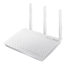 ASUS RT-N66W - Wireless Dual Band Gigabit Router, White 90-IG1Z002M04-APA0 / RT-N66W