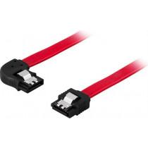 Cable DELTACO SATA/SAS, 0.7m, red / SATA-07K