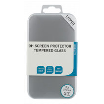 Transparent screen protector, tempered glass, for iPhone XR, 9H hardness DELTACO / SCRN-1001