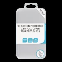 DELTACO ekrāna aizsargs Huawei P30, 2.5D stiklam, pilnekrāna režīmā