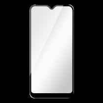 DELTACO ekrāna aizsargs, Galaxy A02s, 2.5D pilna pārklājuma stikls