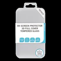 DELTACO ekrāna aizsargs, Galaxy A30 / A50, 2.5D pilna pārklājuma stikls