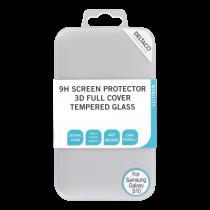 DELTACO ekrāna aizsargs, Galaxy S10, 3D izliekts, pilnekrāna režīms