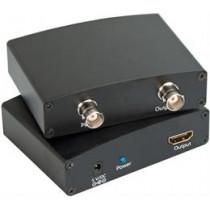 Signāla pārveidotājs no SDI uz HDMI, BNC, SDI Loop Out, melns